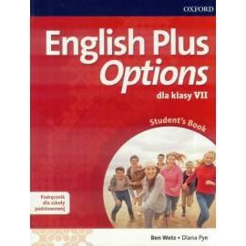 English Plus Options 7 SB wieloletni + CD OXFORD