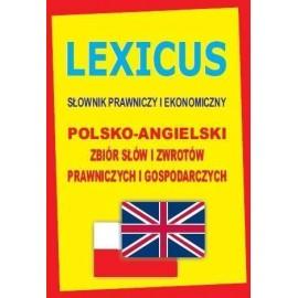LEXICUS Słownik prawniczy i ekonomiczny pol-ang TW