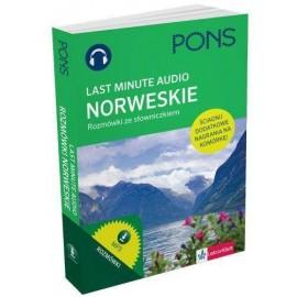 Last Minute audio. Norweskie rozmówki PONS