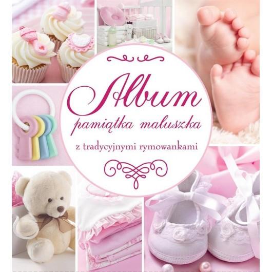 Album Pamiątka Maluszka (różowy) WILGA