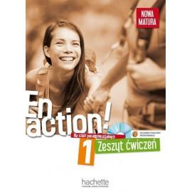 En action 1 zeszyt ćwiczeń +CD HACHETTE