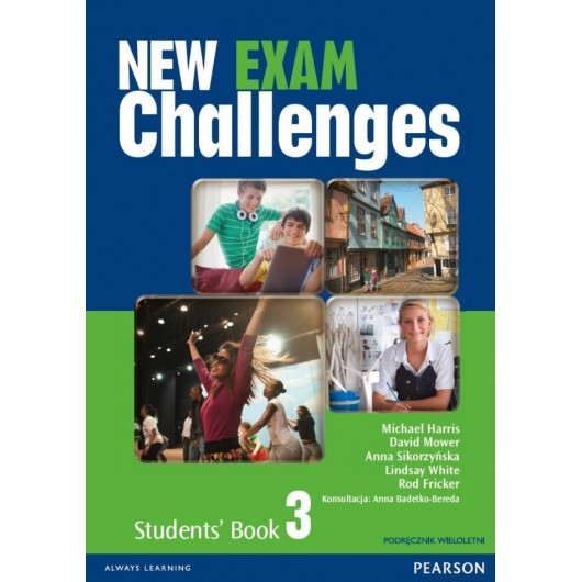 Exam Challenges New 3 SB + CD PEARSON wieloletni