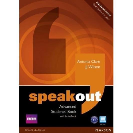Speakout Advanced SB+Active Book PEARSON