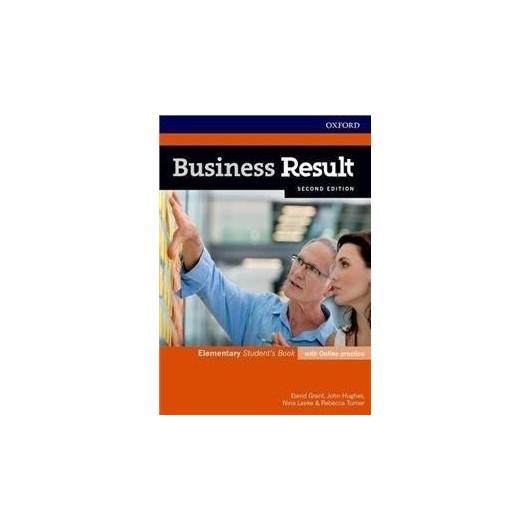 Business Result 2E Elementary SB + online practice
