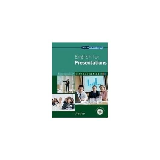 English for Presentations SB + CD-ROM OXFORD