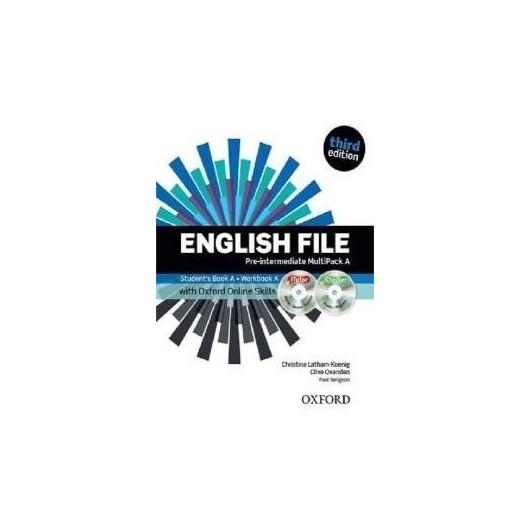 English File 3E Pre-Inter. Multipack B + online...