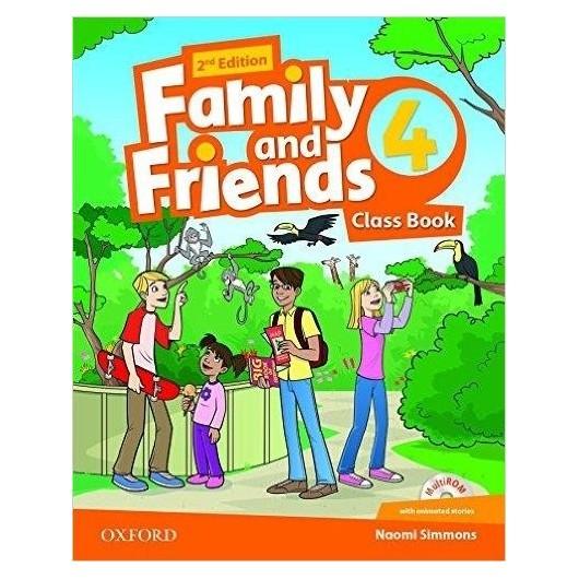 Family and Friends 2E 4 CB + CD OXFORD