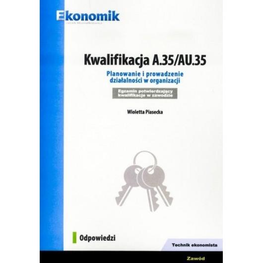 Kwalifikacja A.35/AU.35 Odpowiedzi EKONOMIK