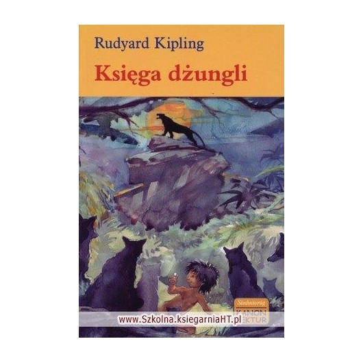 Księga dżungli - kanon lektur wyd. 2008 SIEDMIORÓG