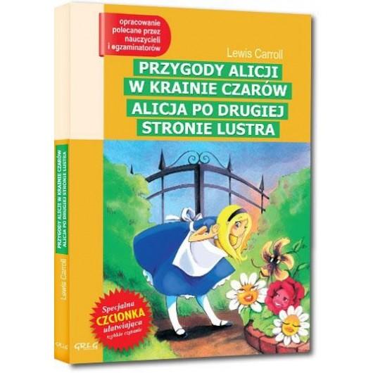 Przygody Alicji..Alicja po drugiej...z oprac. GREG