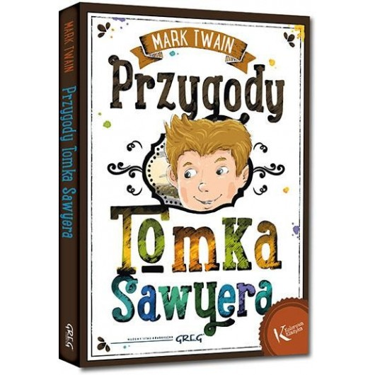 Przygody Tomka Sawyera kolor BR GREG