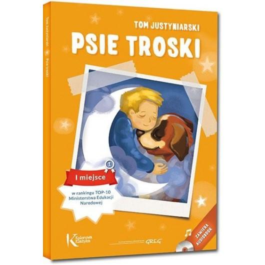 Psie troski kolor TW + audiobook GREG