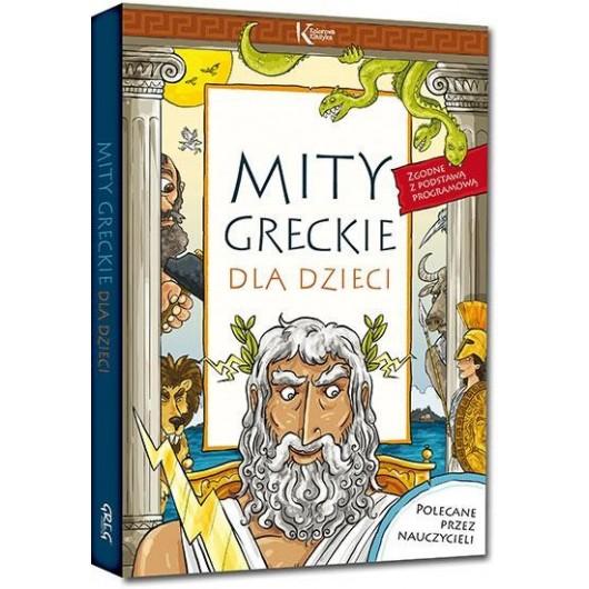 Mity greckie dla dzieci kolor TW GREG