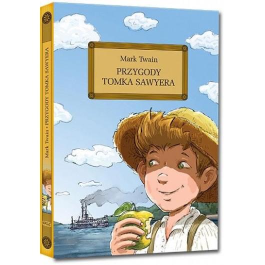 Przygody Tomka Sawyera z oprac. okleina GREG