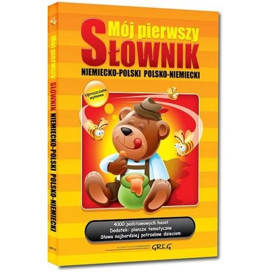 Mój pierwszy słownik niem-pol, pol-niem TW GREG