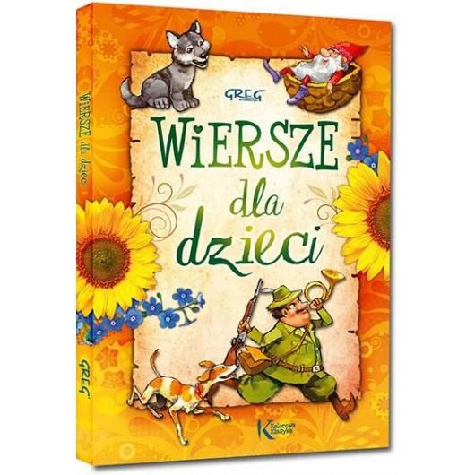 Wiersze dla dzieci kolor TW okleina GREG