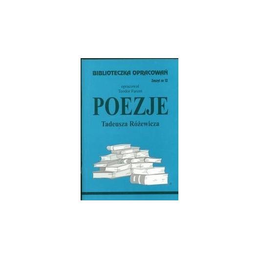 Biblioteczka opracowań nr 012 Poezje Różewicza