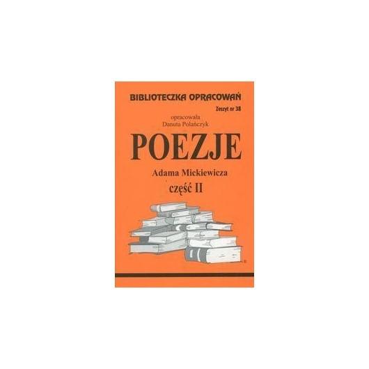 Biblioteczka opracowań nr 038 Poezje cz. II