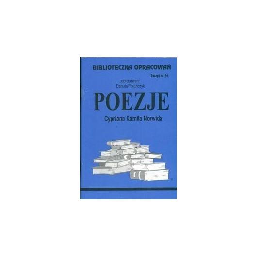 Biblioteczka opracowań nr 044 Poezje Norwida