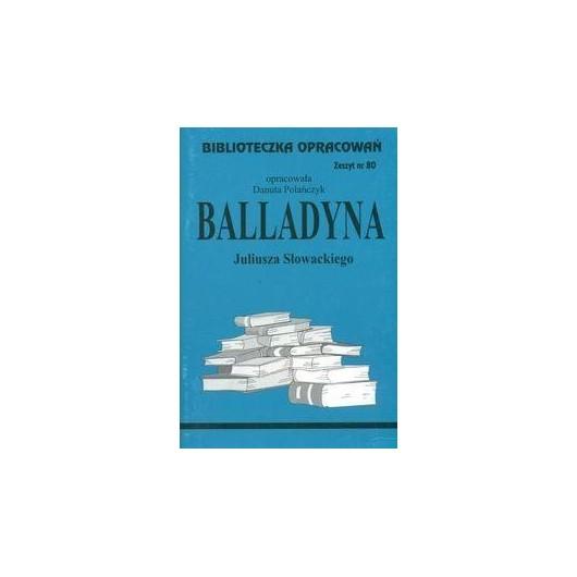 Biblioteczka opracowań nr 080 Balladyna