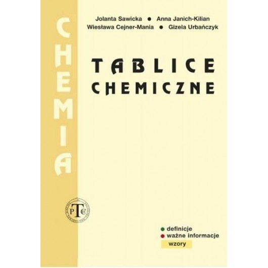 Tablice Chemiczne PODKOWA