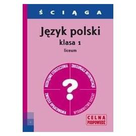 Ściąga - J. Polski LO 1