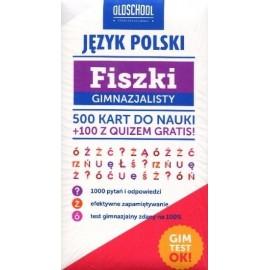 Fiszki gimnazjalisty. Język polski