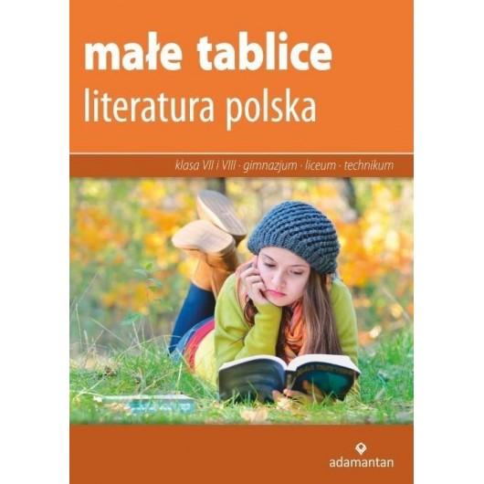 Małe tablice. Literatura polska w.2017 ADAMANTAN