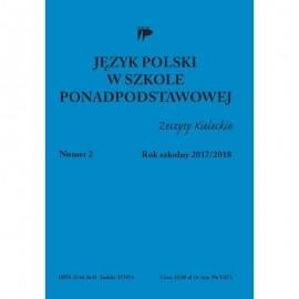 Język polski w szkole ponadpodst. nr 2 2017/2018