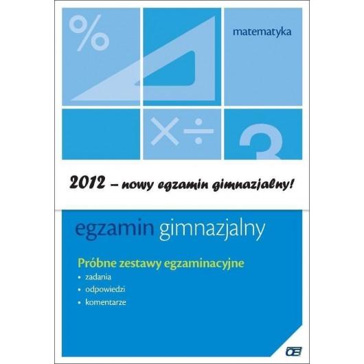 Egzamin gimnazjalny - Matematyka