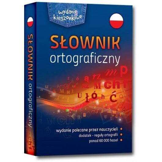 Słownik ortograficzny kieszonkowy broszura GREG
