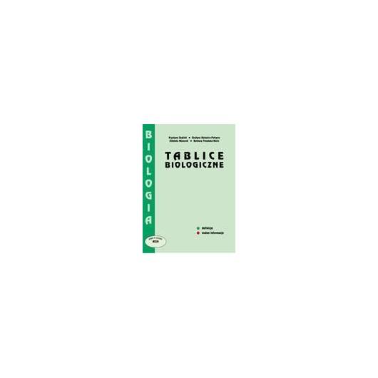 Tablice Biologiczne PODKOWA