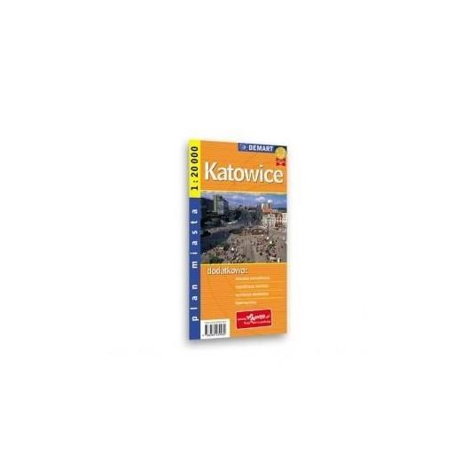 Plan Miasta Katowice 1:20 000 DEMART