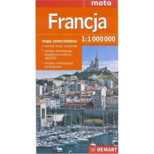 See it Francja 1:1 000 000 mapa samochodowa