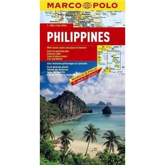 Mapa Drogowa Marco Polo. Filipiny 1:2 000 000