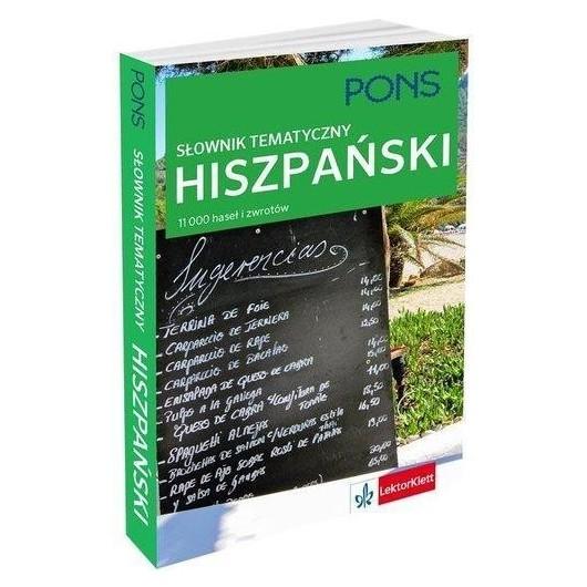 Słownik tematyczny hiszpański PONS
