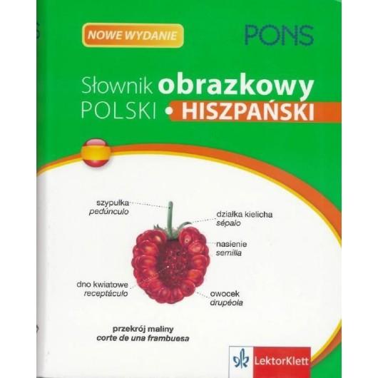 Słownik obrazkowy. Polski Hiszpański PONS