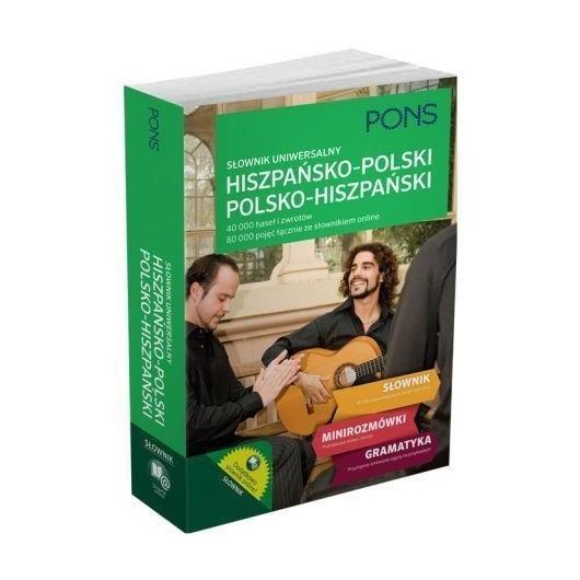 Słownik uniwersalny hiszpańsko-polski/polsko-hiszp
