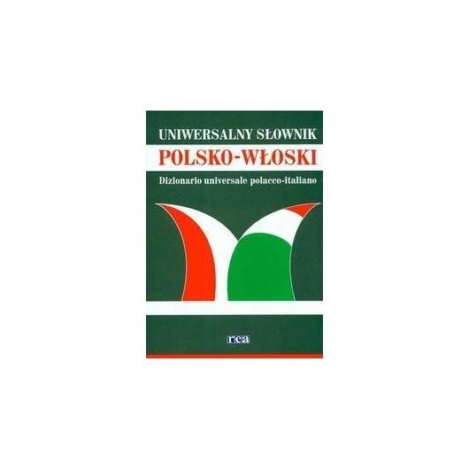Słownik uniwersalny polsko-włoski duży REA