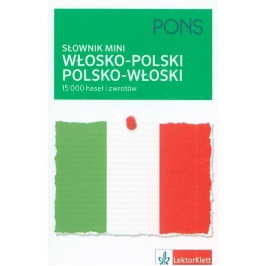 Słownik mini włosko-polski, polsko-włoski