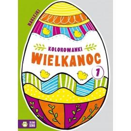 Kolorowanki Wielkanoc cz.1
