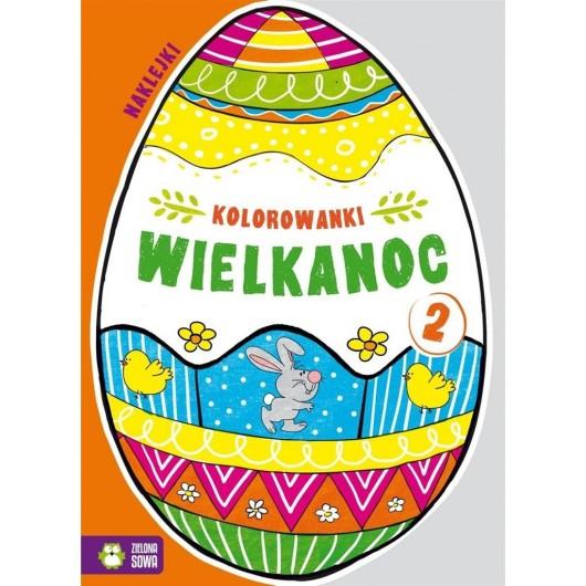 Kolorowanki Wielkanoc cz.2