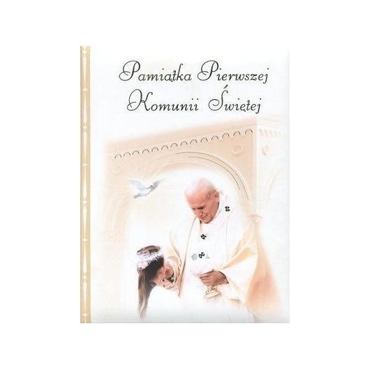Pamiątka Pierwszej Komunii Świętej papież