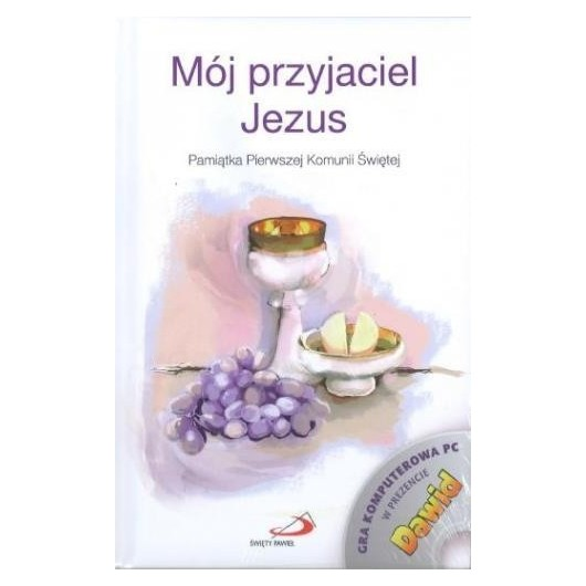 Mój przyjaciel Jezus. Pamiątka I Komunii...+ gra
