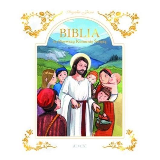 Biblia na Pierwszą Komunię Świętą (etui)