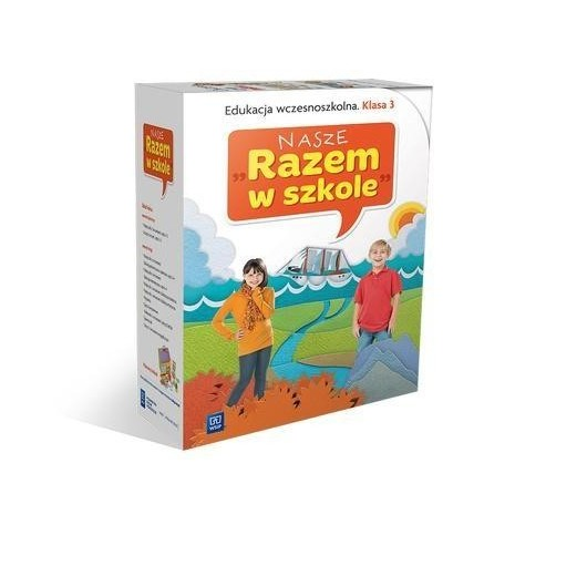 Nasze Razem w szkole SP 3 BOX wyd. 2014 WSiP
