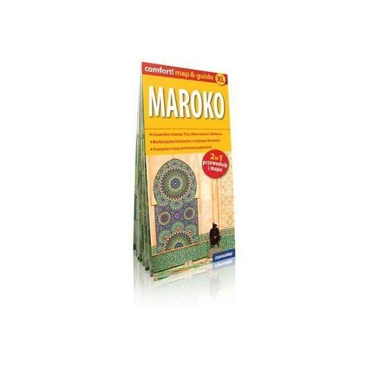 Comfort!map&guide XL Maroko 2w1 1:500 000