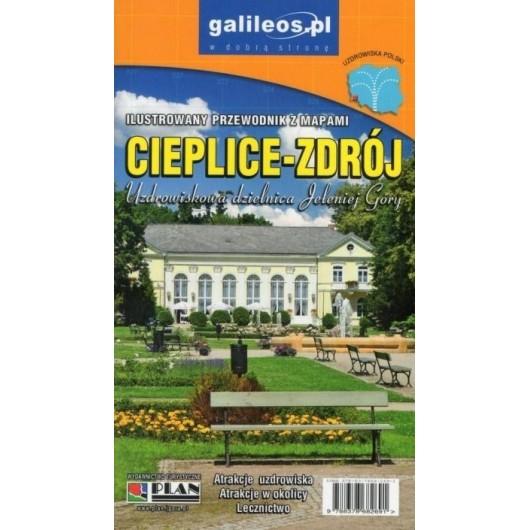 Przewodnik ilustrowany z mapami - Cieplice-Zdrój