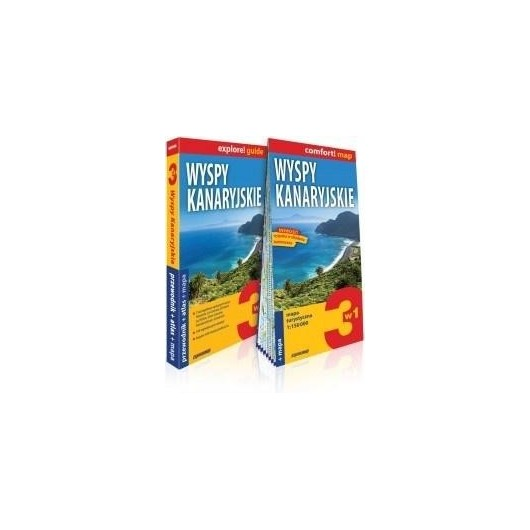 Explore! guide Wyspy kanaryjskie 3w1 wyd.IV