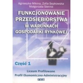 Funkcj. przeds. w war. gosp. rynk. cz 1 REA